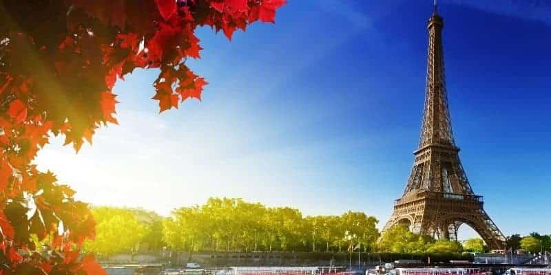Город Париж во Франции