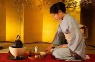Чайная церемония в Японии фото