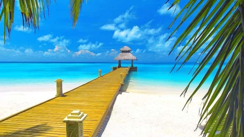 Солнце на Багамских островах
