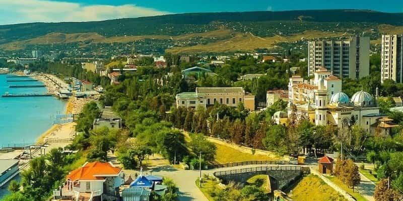 Город Феодосия Крым