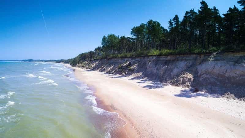 Побережье Балтики в Латвии