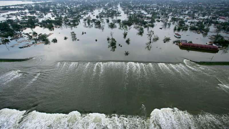 Ураган Катрина 2005 новый Орлеан