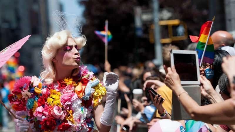 ЛГБТ парад в США