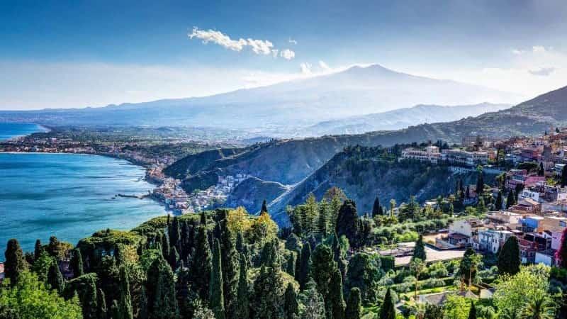 Остров Сицилия Италия