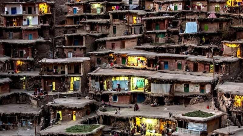 Мумбай Индия трущобы