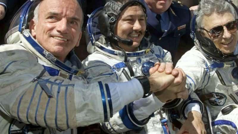 Деннис Тито космический турист