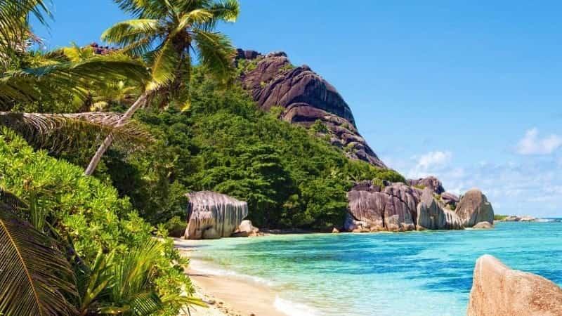 Сейшелы пляж