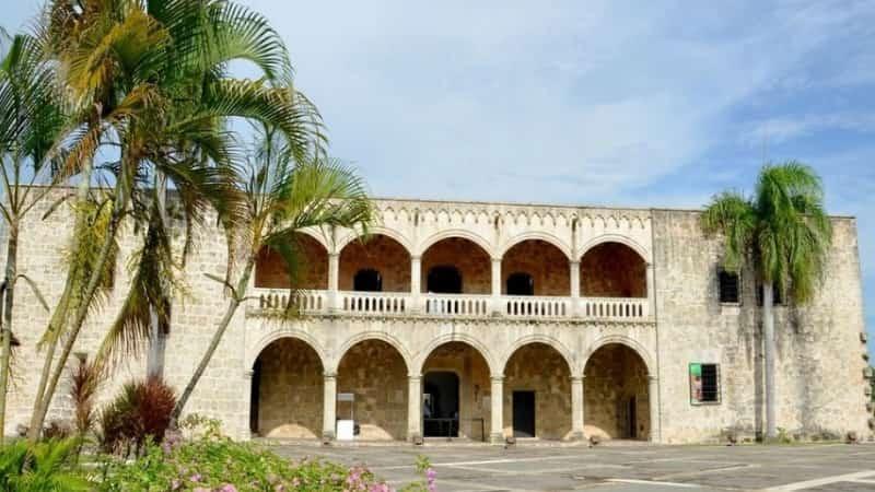 Санто Доминго Алькасар-де-колон