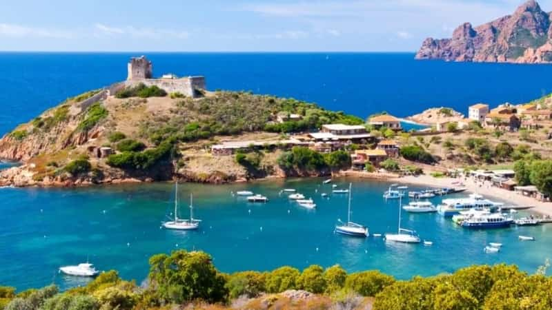 Остров Корсика фото