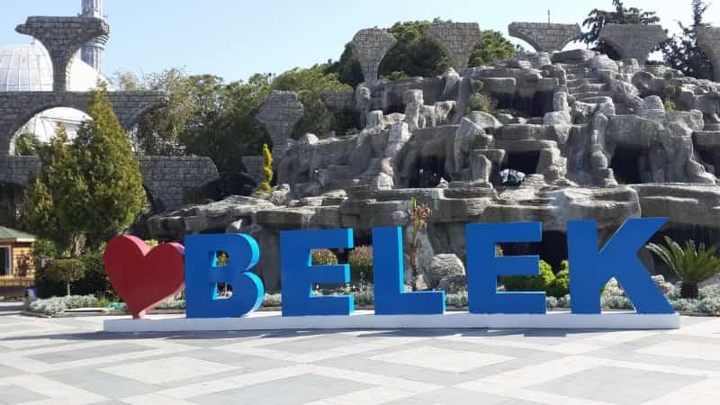 Город Белек в Турции фото