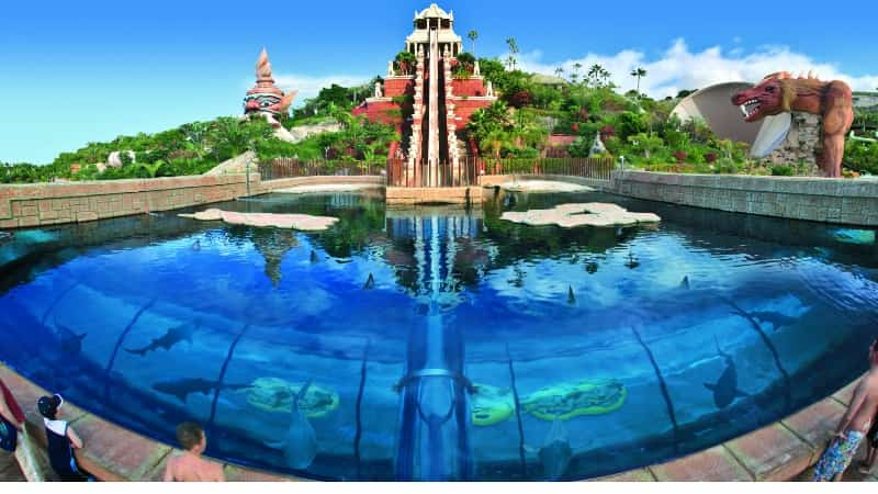 Тенерифе аквапарк Сиам