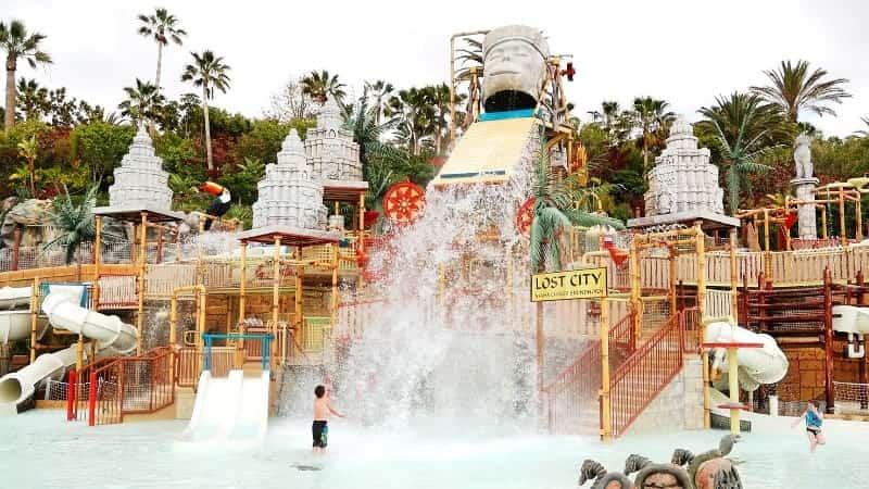 Siam Park бассейн