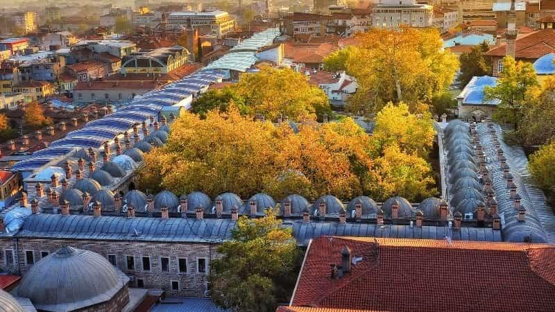 Город Бурса фото