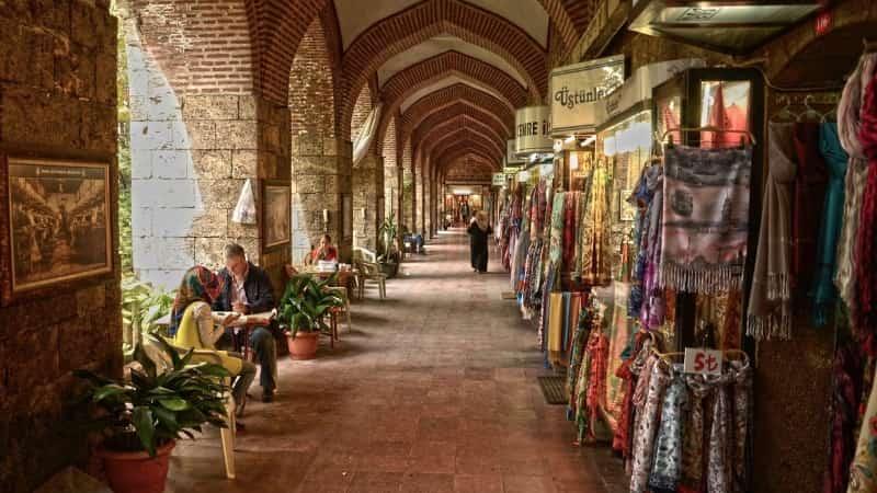 Шелковый рынок Коза Хан