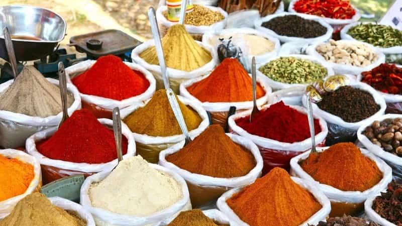 Индия специи и пряности