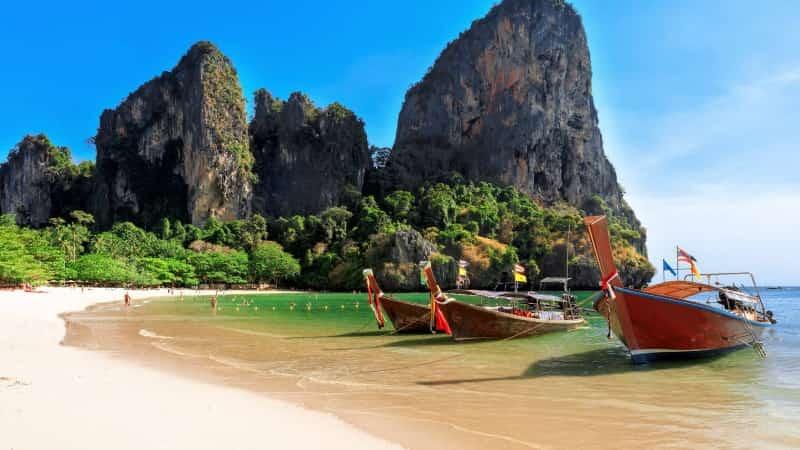 Рейли остров в Тайланде