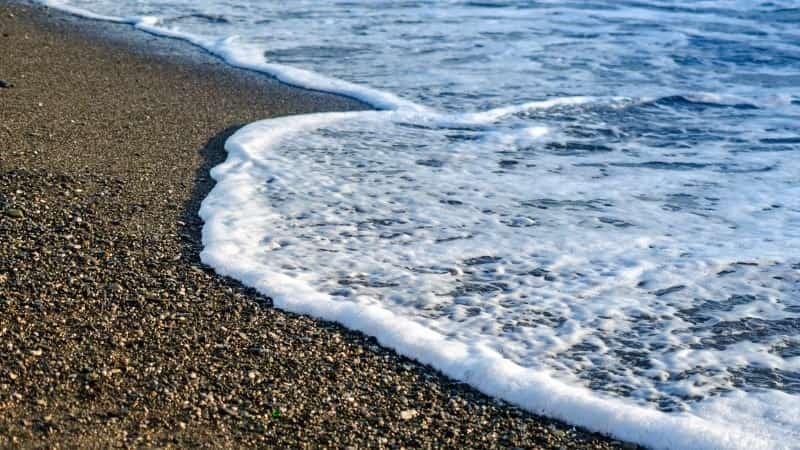 Пляж Чайка Адлер море