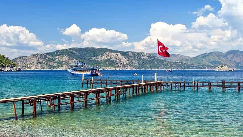 Море Турция Кемер