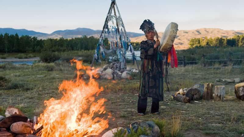Фото шаманов на Байкале