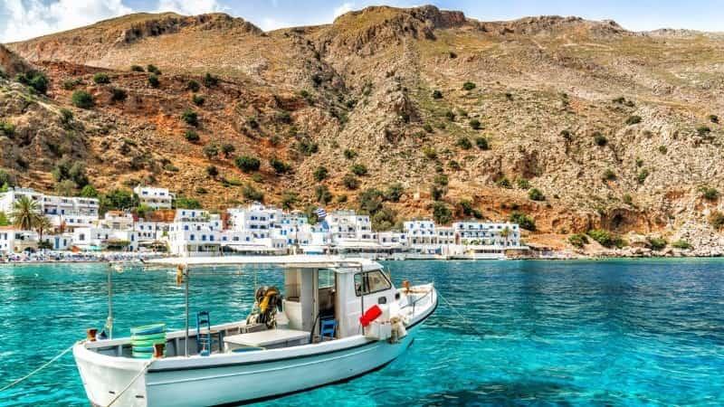 Крит море