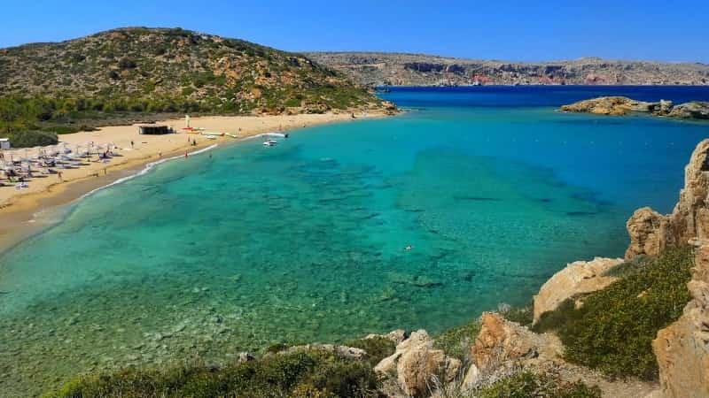 Пляжи на Крите