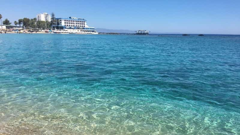 Фото пляжей Кипр