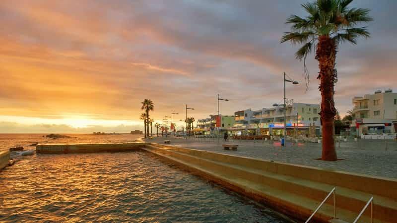 Пафос Кипр фото города
