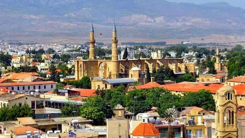 Столица Кипра Никосия фото