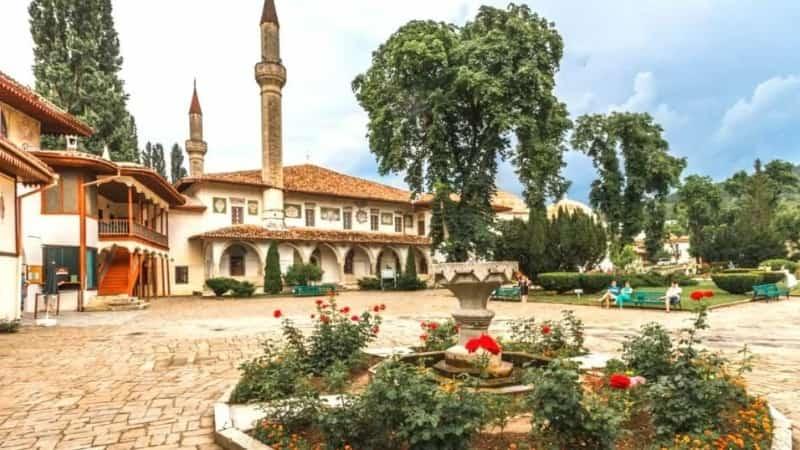 Крым Бахчисарай Ханский дворец