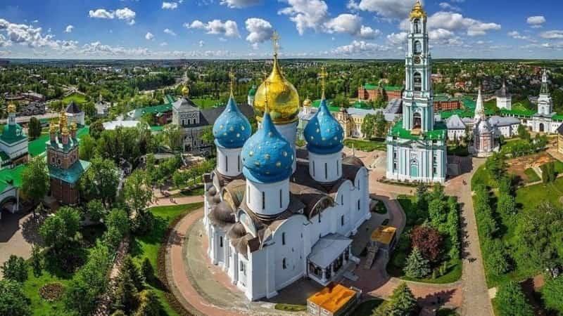 Золотое кольцо России Сергиев Посад