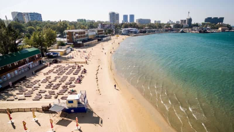 Анапа Центральный пляж фото
