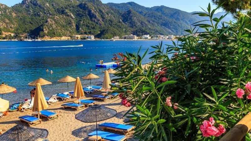 Мармарис фото пляжей