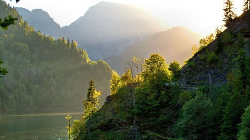 Пейзажи Абхазии фото