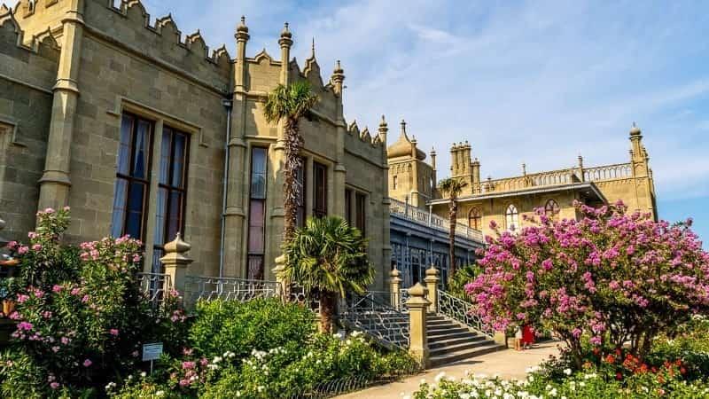 Воронцовский дворец фото
