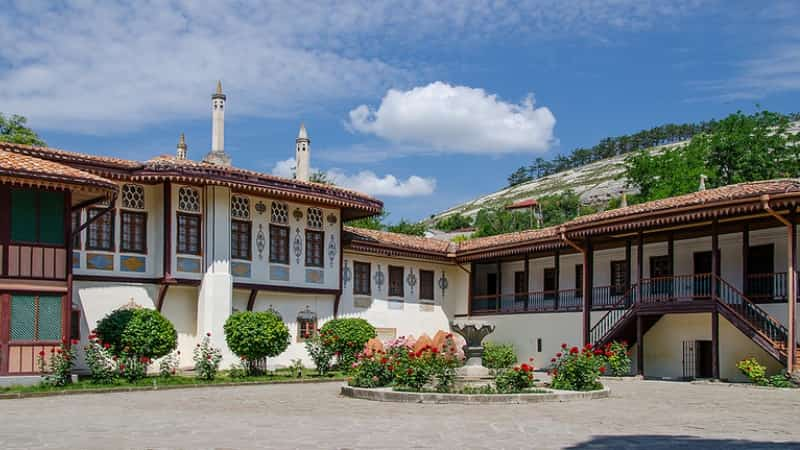 Бахчисарай музей Крым фото