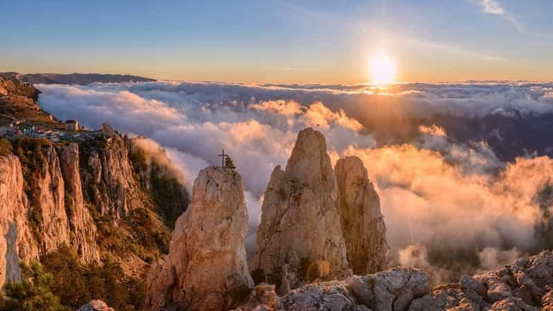 Ай-Петри Крым гора фото