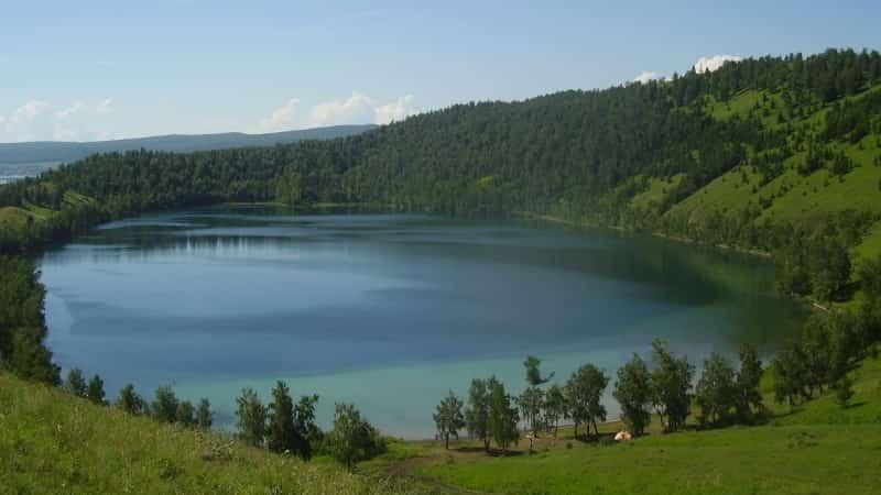 Озеро Круглое в Хакасии