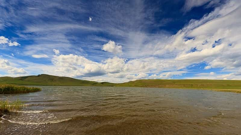 Озеро Шунет в Хакасии фото
