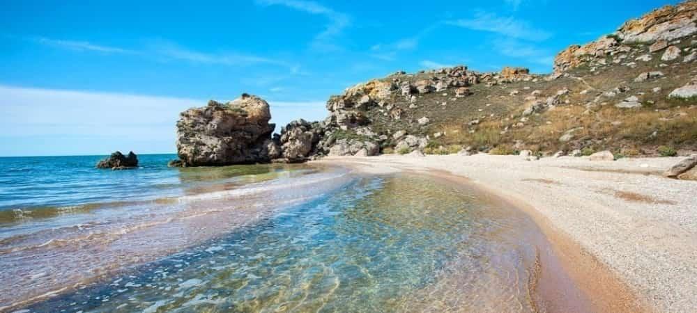 Крымские пляжи фото