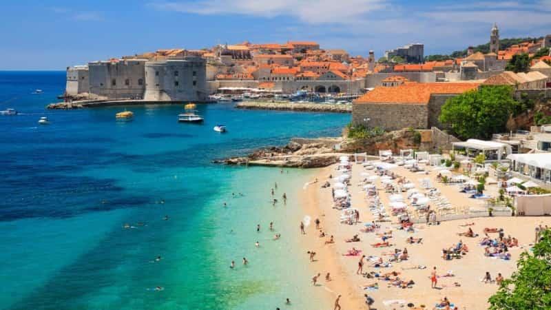 Хорватия фото пляжей