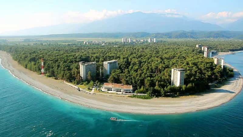 Абхазия город Пицунда