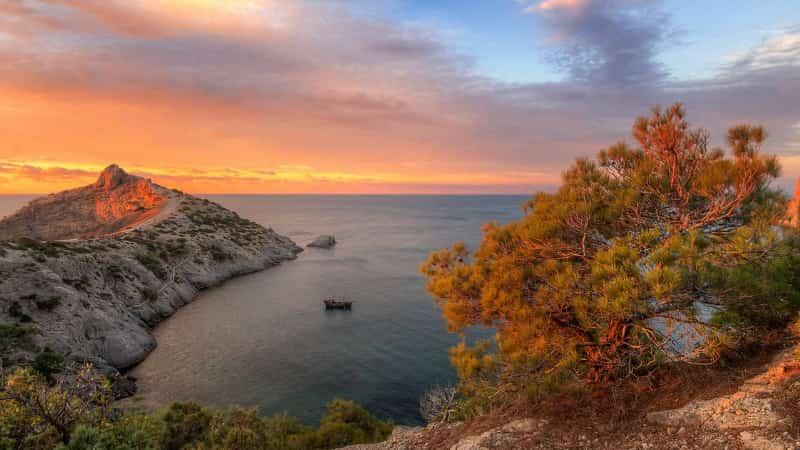 Осенний Крым фото