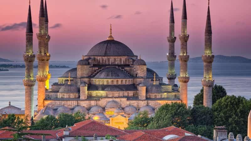 Голубая мечеть Турция