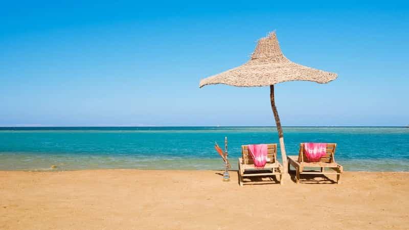 Хургада пляж Клеопатра