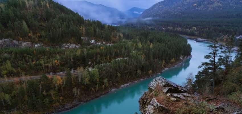 Алтай река Катунь
