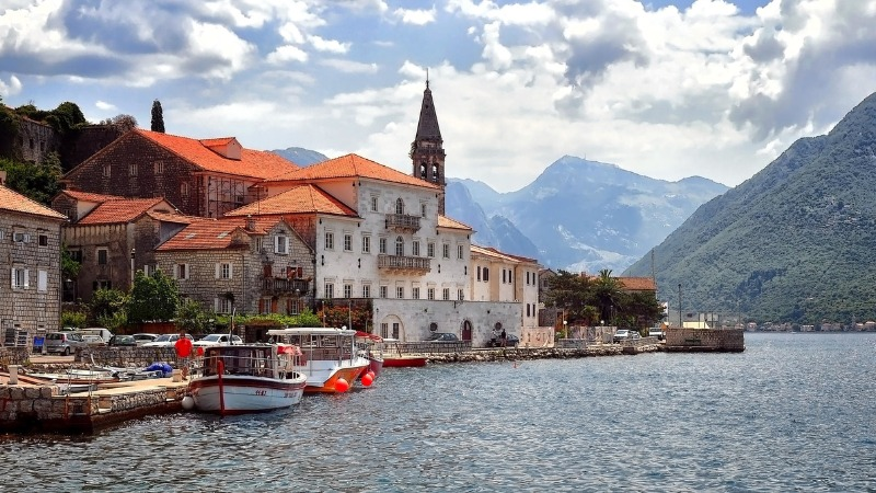 Город Пераст Черногория