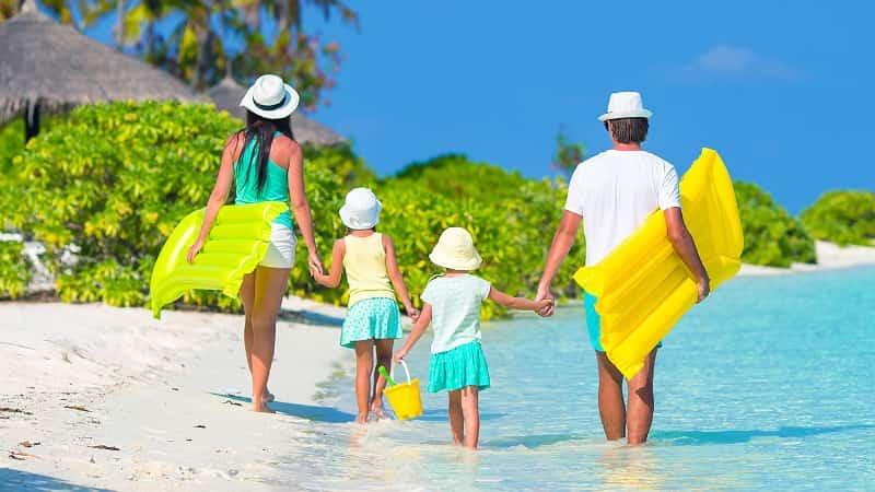 Отдых на Мальдивах с детьми фото