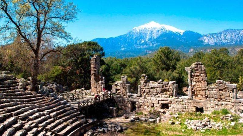 Античный город Фазелис Турция