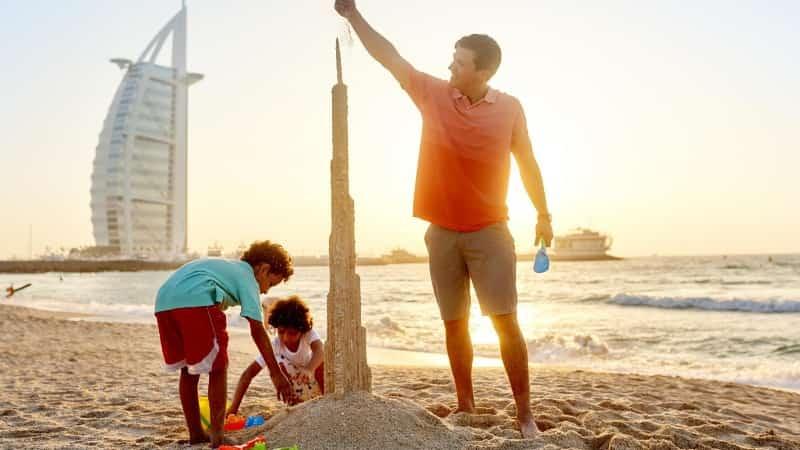Отдых в ОАЭ с детьми фото