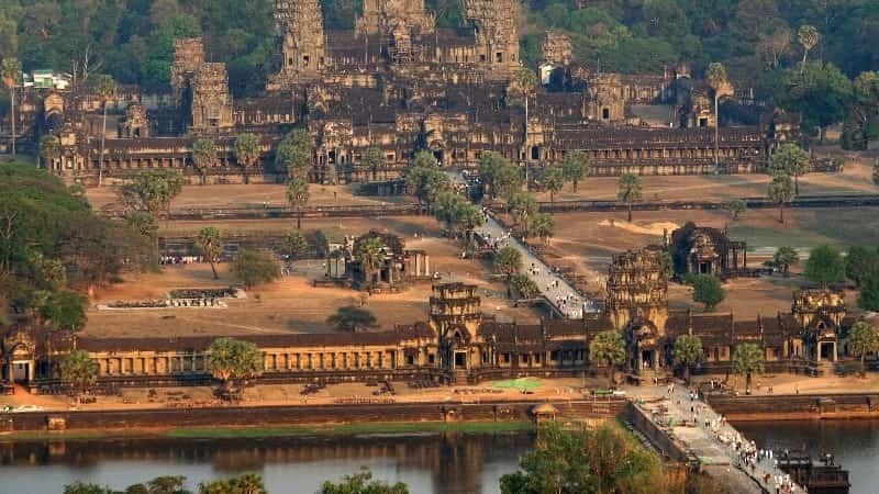 Камбоджа город Ангкор